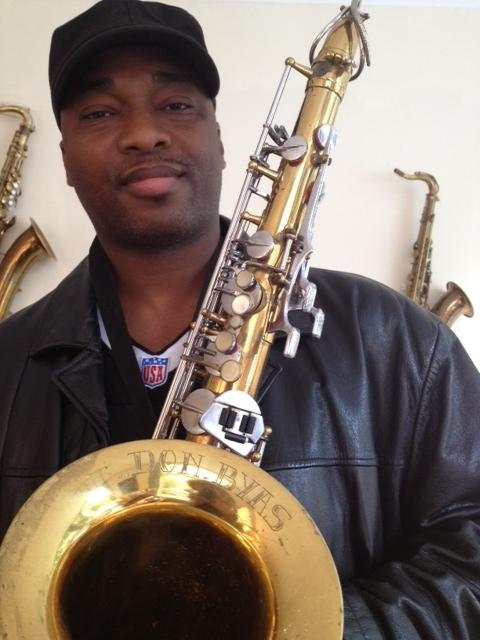 Bass Saxophone James Carter